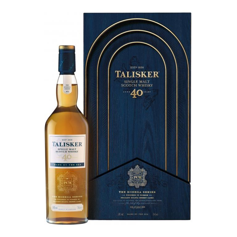 Immagine di WHISKY TALISKER- AGED 40 YEARS - 70CL - THE BODEGA SERIES ASTUCCIATO