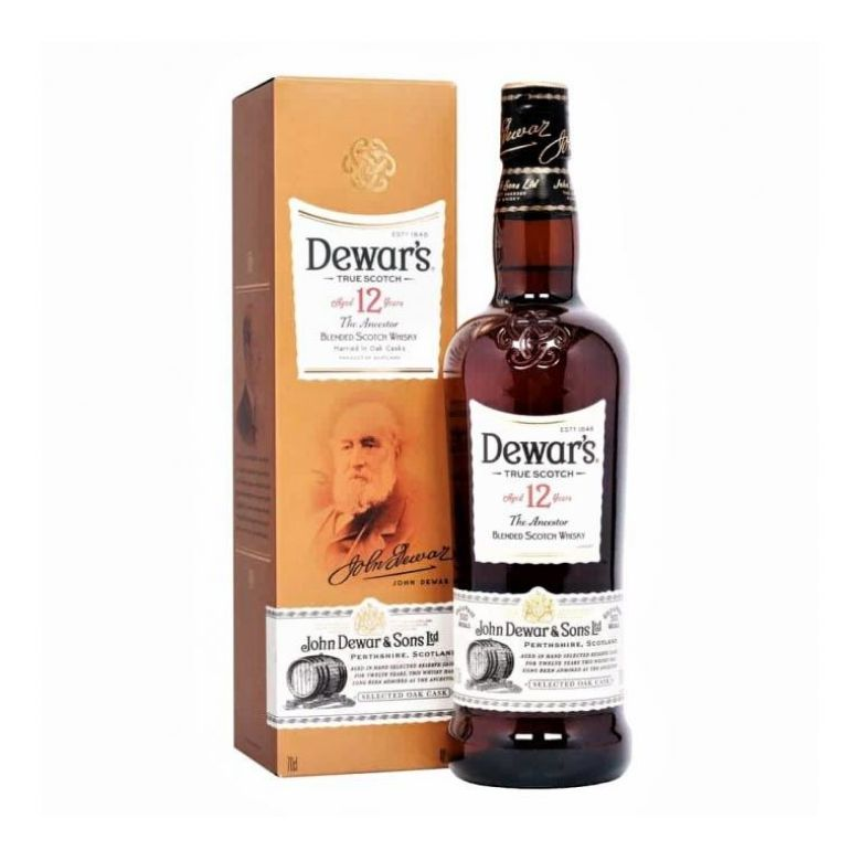 Immagine di WHISKY DEWAR'S -AGED 12YEARS-70CL - THE ANCESTOR BLENDED SCOTCH -ASTUCCIATO