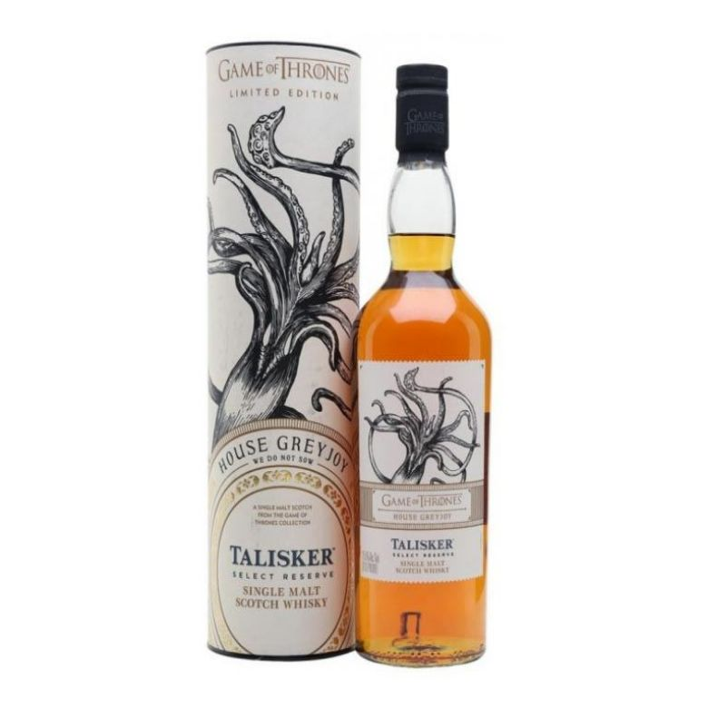 Immagine di WHISKY TALISKER SELECT RESERVE -70CL - HOUSE GREYJOY- LIMITED EDITION- GOT-AST