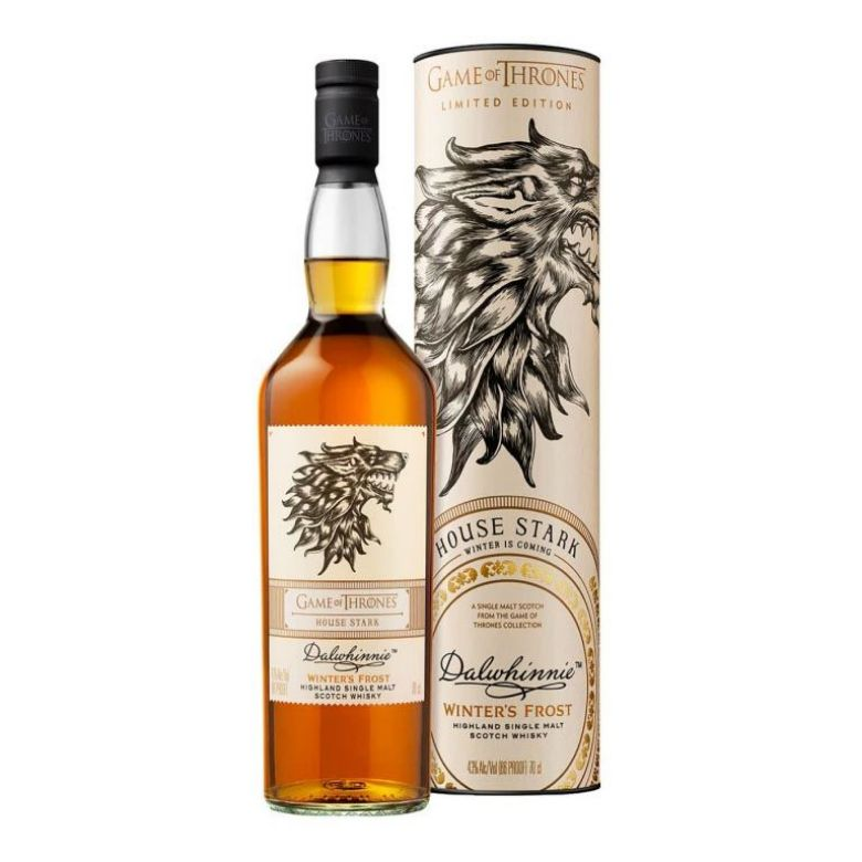 Immagine di WHISKY DALWHINNIE LIMITED EDITION -70CL - GAME OF THRONES - HOUSE STARK-ASTUCCIATO