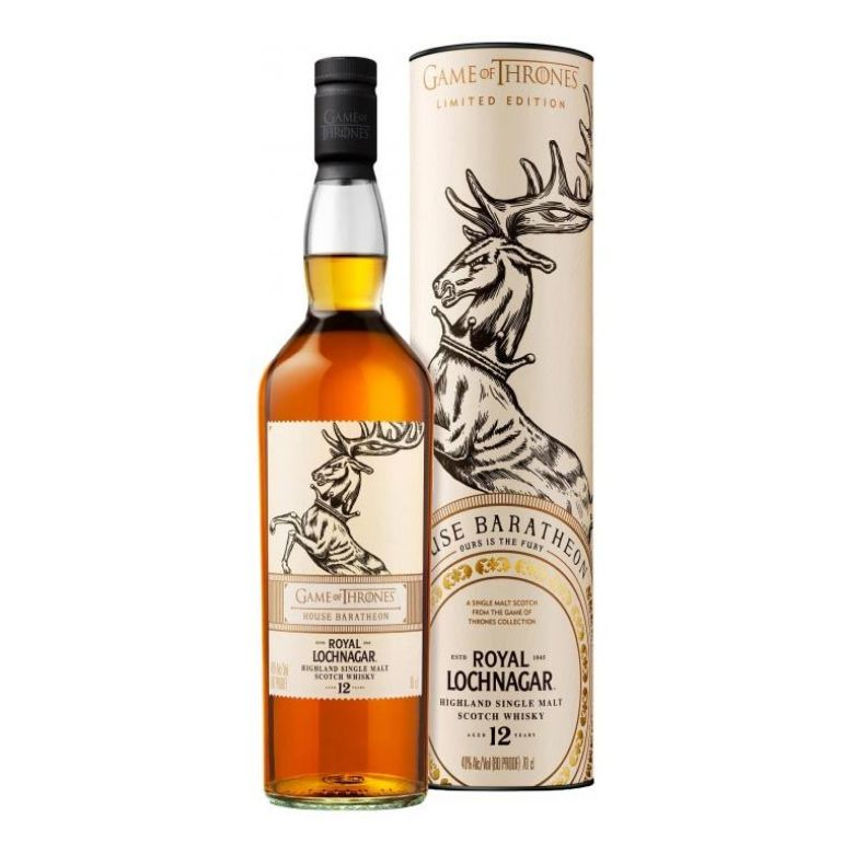 Immagine di WHISKY ROYAL LOCHNAGAR - AGED 12YEARS - - HOUSE BARATHEON-LIMITED EDITION-70CL-AST