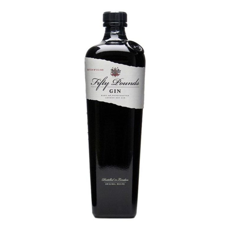 Immagine di GIN FIFTY POUNDS- 70CL- - RARE AND HANDCRAFTED LONDON DRY GIN