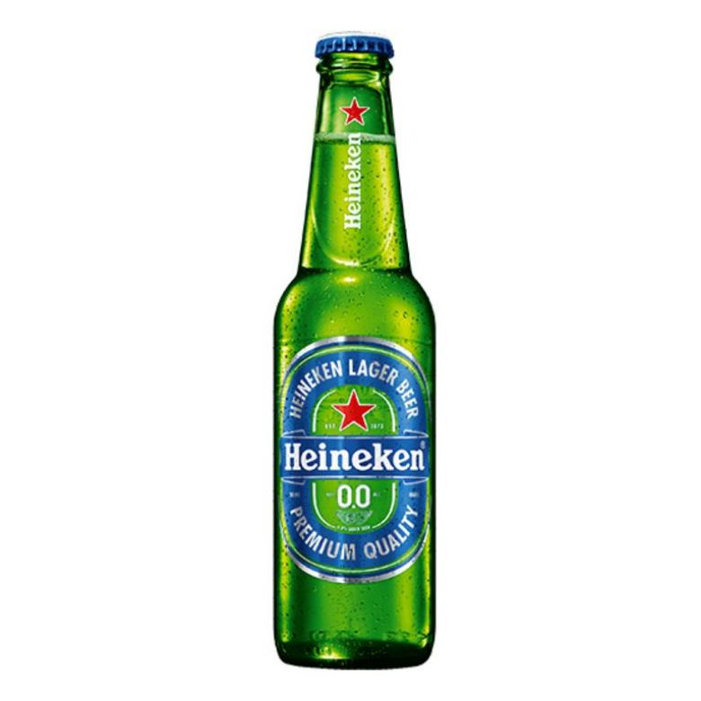 "Immagine di BIRRA HEINEKEN ""00""-33CL - Confezione da 24 Bottiglie - ANALCOLICA"