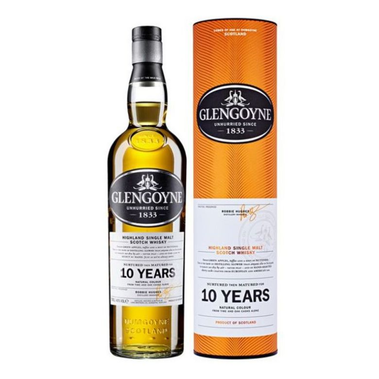 Immagine di WHISKY GLENGOYNE 10 YEARS OLD-70CL - HIGHLANDS LINE-ASTUCCIATO