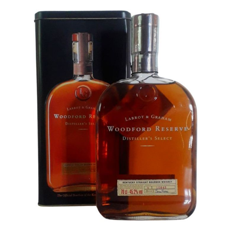 Immagine di WHISKEY L&G WOODFORD RESERVE-70CL - DISTILLER'S SELECT- KENTUCKY - ASTUCCIO