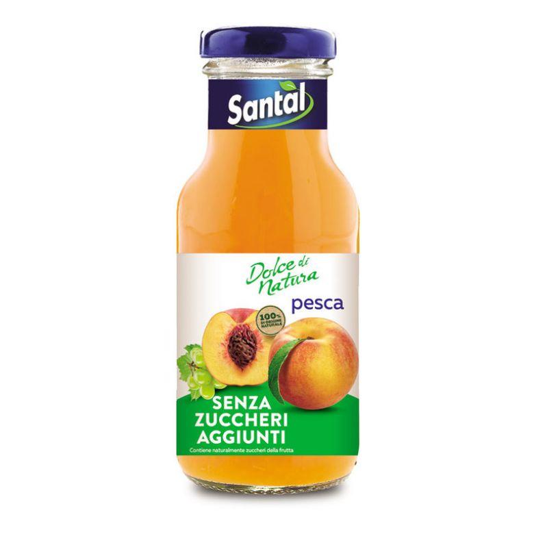 Immagine di SANTAL PESCA SENZA ZUCCHERO 25CL BT - Confezione da 12 Bottiglie -