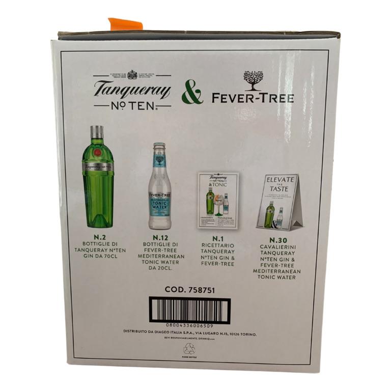 Immagine di KIT TANQUERAY N°TEN & FEVER-TREE - Confezione da 1 Pezzi -